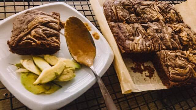 avocado chocolate brownies