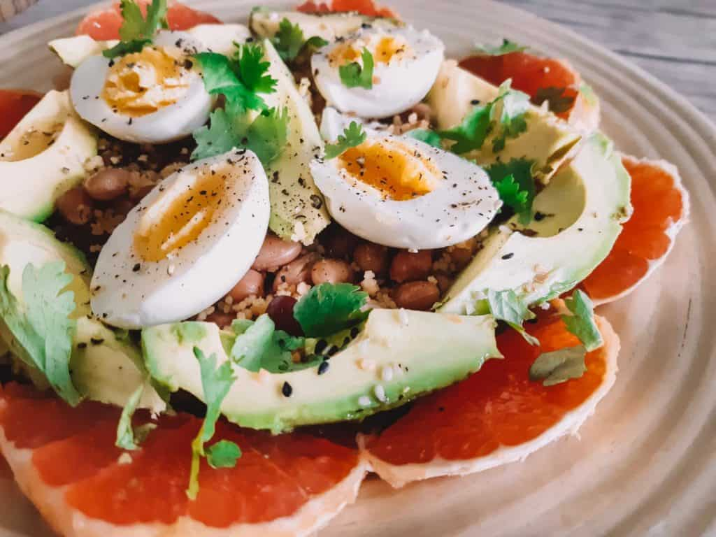 avocado grapefruit salad