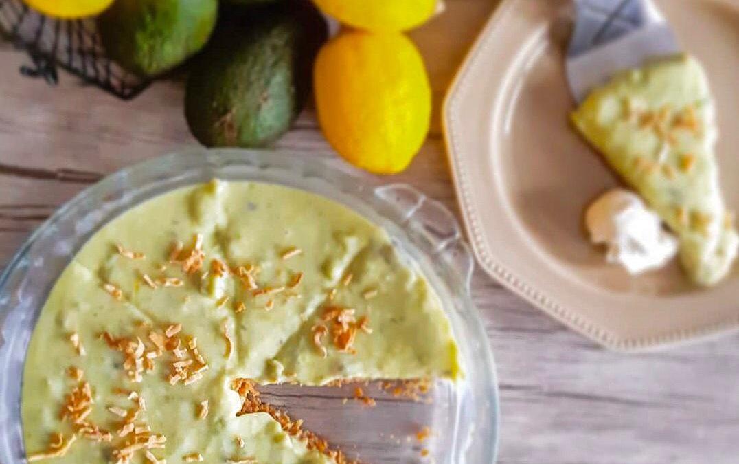 Delicious Avocado Keylime Pie