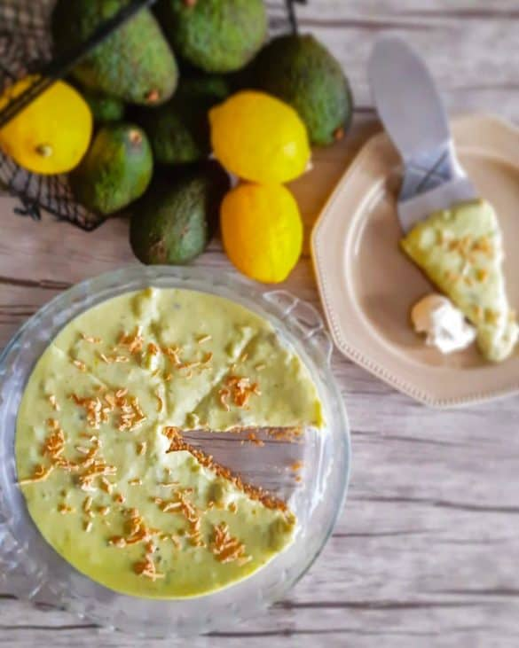 avocado keylime pie