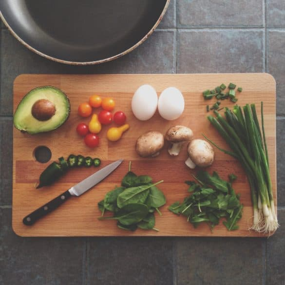 Cooking with Avocado Leaves