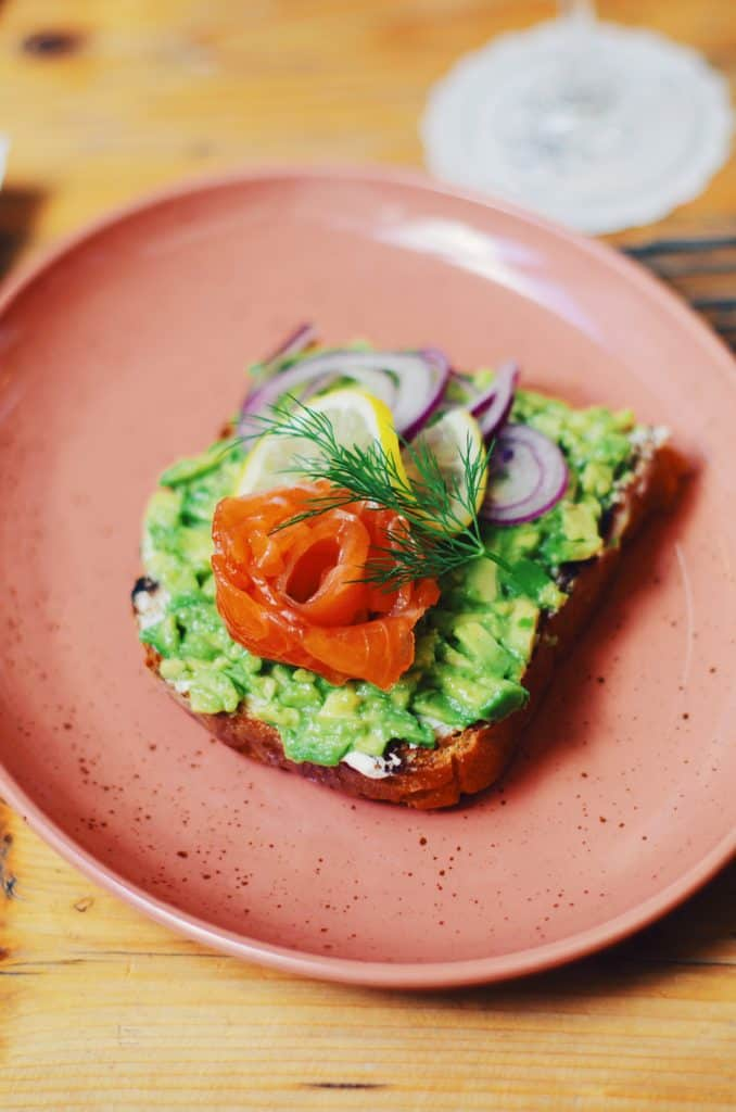 15 best avocado recipes - avocado salmon toast