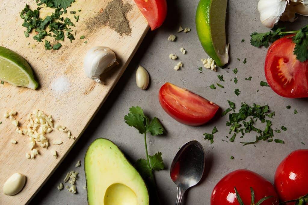 how to make avocado butter - garlic-avocado butter